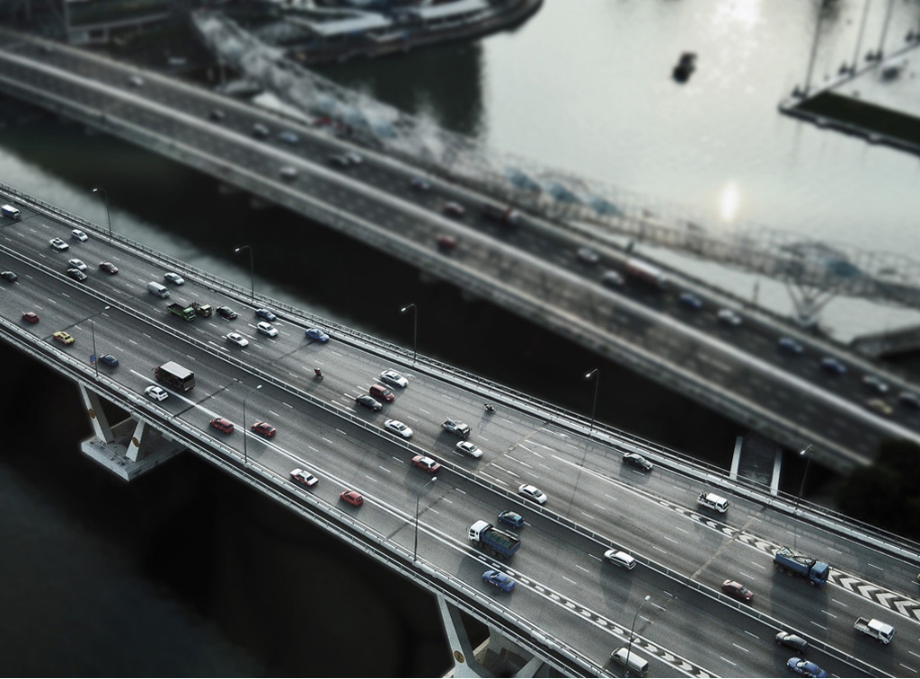 Singapore Highway - Evelina Kristanti